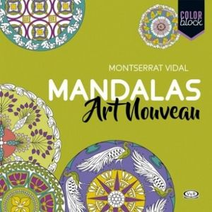 MANDALAS ART NOUVEAU                 (COLOR BLOCK)