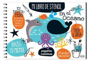 MI LIBRO DE STENCIL -EN EL OCEANO-
