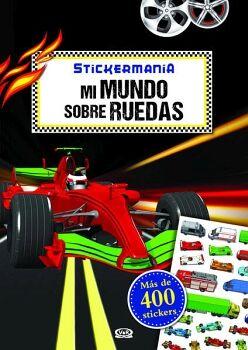 STICKERMANIA -MI MUNDO SOBRE RUEDAS-      (MAS DE 400 STICKERS)