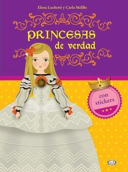 PRINCESAS DE VERDAD -CON ESTICKERS-