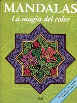 MANDALAS -LA MAGIA DEL COLOR- 12 (VERDE/MORADO C/MENSAJES)