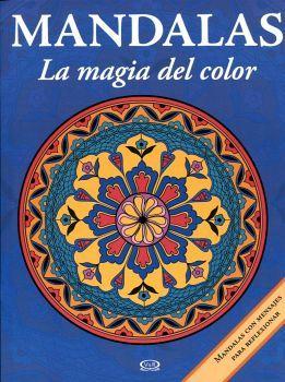 MANDALAS -LA MAGIA DEL COLOR- 13 (AZUL-C/MENSAJE)