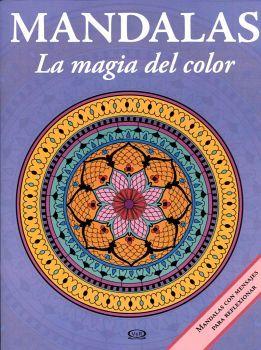 MANDALAS -LA MAGIA DEL COLOR- 14 (LILA-C/MENSAJES)