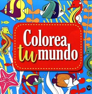COLOREA TU MUNDO (2) -AZUL-