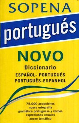 PORTUGUES NOVO DICCIONARIO ESPAÑOL-PORTUGUES PORTUGUES-ESPAÑOL