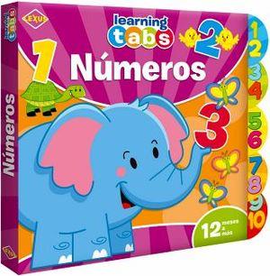 LEARNING TABS -NUMEROS-  (LIBRO C/PESTAÑAS)