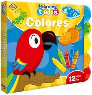 LEARNING TABS -COLORES-  (LIBRO C/PESTAÑAS)