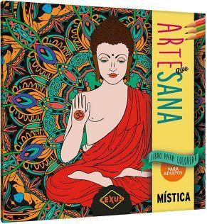 ARTE QUE SANA -MISTICA- (LIBRO P/COLOREAR P/ADULTOS)