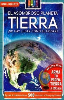 ASOMBROSO PLANETA TIERRA, EL -NO HAY LUGAR COMO EL HOGAR- (LIBRO