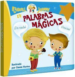 RAQUEL Y JOHNNY EN PALABRAS MAGICAS       (CARTONE)