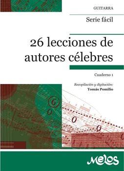BA11840 - 26 LECCIONES DE AUTORES CÉLEBRES